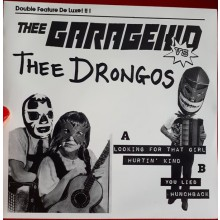 "GARAGEKID VS DRONGOS ""Double Feature De Luxe"" 7"""
