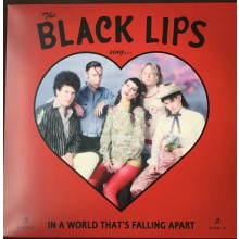"BLACK LIPS ""In A World That's Falling Apart"" LP"