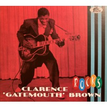 "CLARENCE GATEMOUTH BROWN ""ROCKS"" CD"