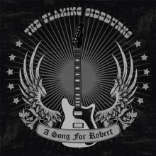 "FLAMING SIDEBURNS ""A Song For Robert"" 7"" - grey vinyl"