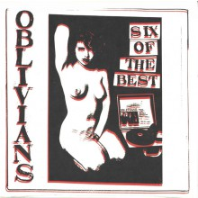 "OBLIVIANS ‎""Six Of The Best"" 10"""