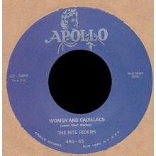 "NITE RIDERS ""Women & Cadillacs / Doctor Velvet"" 7"""