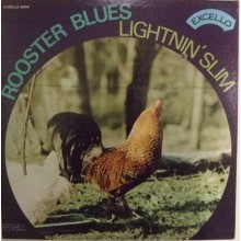 "LIGHTNIN' SLIM ""ROOSTER BLUES"" LP"