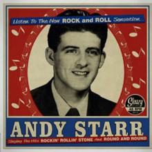 "ANDY STARR ""Rockin' Rollin' Stone / Round And Round"" 7"""
