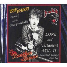 "TAV FALCO PANTHER BURNS ""Sugar Ditch Revisited / Shake Rag"" DoCD"
