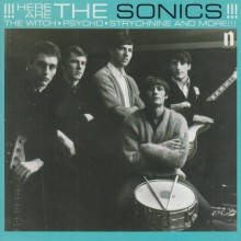 "SONICS ""Here Are The Sonics!!!"" LP"