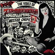 "MESSER CHUPS / BONECOLLECTORS ""THE VOICE OF ZOMBIERELLA"" LP"