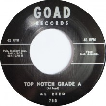 "RAY JOHNSON ""SHAKE A LITTLE BIT"" / AL REED ""TOP NOTCH GRADE A"" 7"""