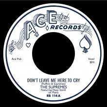 "SUPREMES ""Don't Leave Me Here To Cry / Just You & I"" 7"""