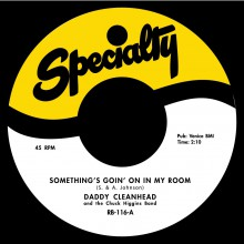 "DADDY CLEANHEAD ""Somethings Going On In My Room"" / JIMMY LIGGINS ""Saturday Night Boogie Woogie Man"" 7"""