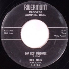 "REX ELLIS ""Bob Hop Jamboree / You'll Be The Last To Know"" 7"""