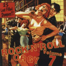 ROCK'N'ROLL ORGY Volume 7 CD