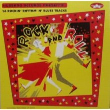 ROCK AND ROLL - 16 ROCKIN R'N'B TRACKS LP