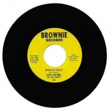 "GARY BROWN ""SPOILED CHILD / I WORRY"" 7"""