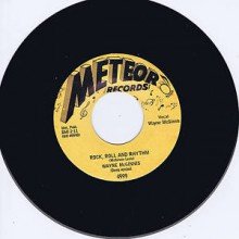 "Wayne McGinnis With The Swing Teens ""Rock, Roll And Rhythm / Lonesome Rhythm Blues"" 7"""