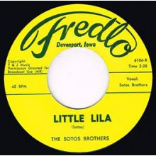 "SOTOS BROTHERS ""LITTLE LILA / MISERLOU"" 7"""