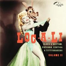 "LOC-A-LI - EXOTIC BLUES & RHYTHM Vol. 11 10"""