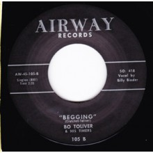 "BO TOLIVER ""BEGGING / FARM DELL ROCK"" 7"""