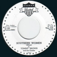 "TOMMY BROWN ""SOUTHERN WOMEN "" / BIG WALTER ""BACK HOME TO MAMA"" 7"""