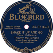 """TOMMY MCCLENNAN """"I LOVE MY BABY/ SHAKE IT UP AND GO"""" 7"""""""