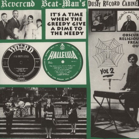 REVEREND BEAT-MAN'S DUSTY RECORD CABINET Volume 2 LP