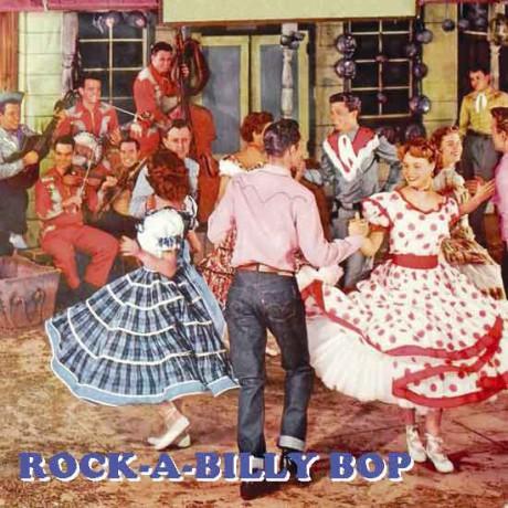 ROCK-A-BILLY BOP cd (Buffalo Bop)
