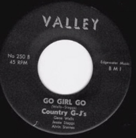 """COUNTRY G-J'S """"GO GIRL GO/BEFORE THE WAR"""" 7"""""""