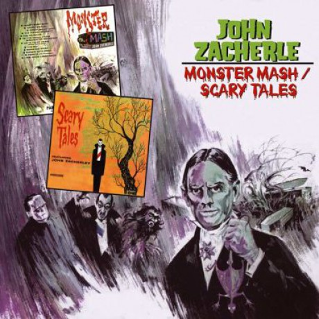 "JOHN ZACHERELE ""MONSTER MASH / SCARY TALES"" CD"