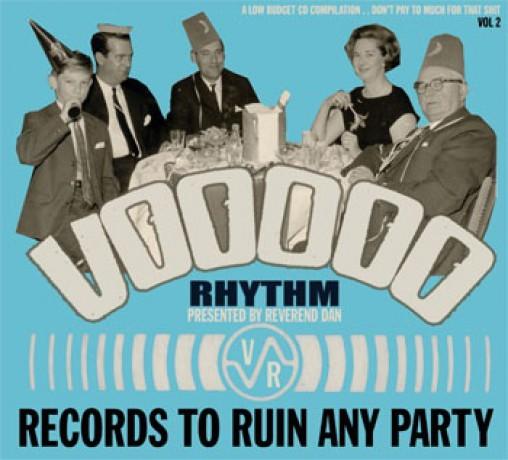 VOODOO RHYTHM COMP VOLUME 1 & 2 CD