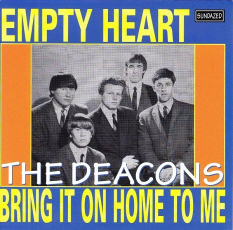 """DEACONS """"EMPTY HEART/BRING IT ON HOME"""" 7"""""""
