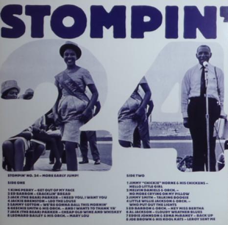 STOMPIN VOLUME 24 LP