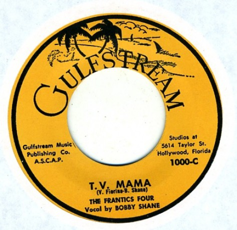 """Frantics Four """"T.V. Mama / Down By The Old Mill Stream"""" 7"""""""