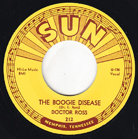 "DOCTOR ROSS ""THE BOOGIE DISEASE/ JUKE BOX BOOGIE"" 7"""
