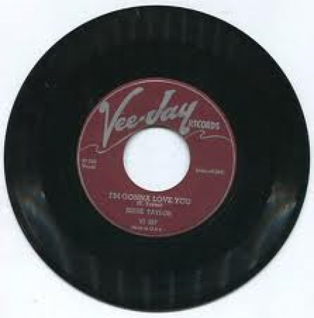 "EDDIE TAYLOR ""I'M GONNA LOVE YOU/LOOKING FOR TROUBLE"" 7"""