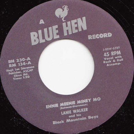 "LANIE WALKER ""No Use Knocking On My Door/ Ennie Meenie Miney Mo"" 7"""