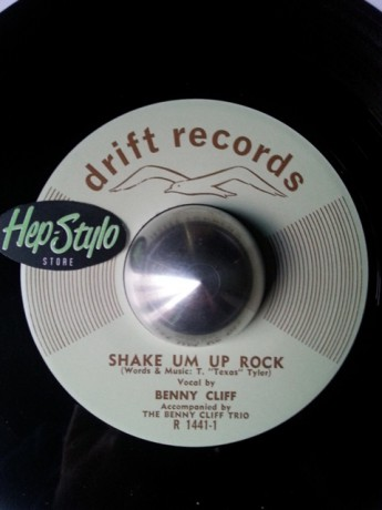 """Benny Cliff Trio """"Shake Em Up Rock/The Breaking Point"""" 7"""""""