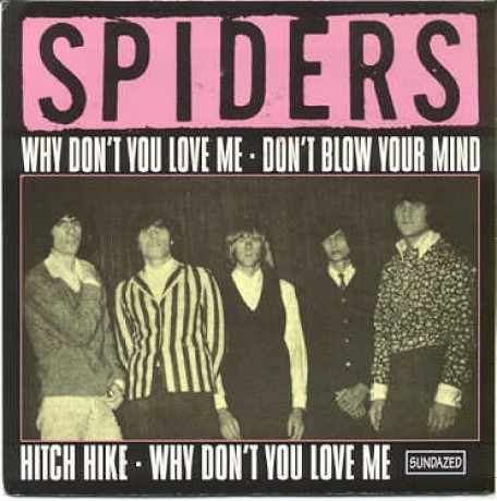 """SPIDERS """"WHY DON'T YOU LOVE/HITCH HYKE"""" 7"""""""