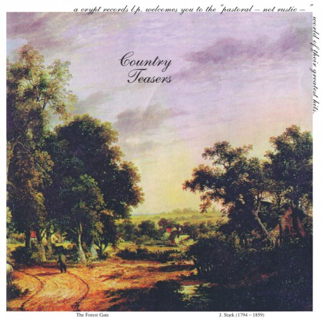 """COUNTRY TEASERS """"Pastoral - Not Rustic / S/T"""" 10"""""""