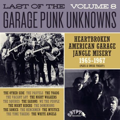 LAST OF THE GARAGE PUNK UNKNOWNS 8 LP