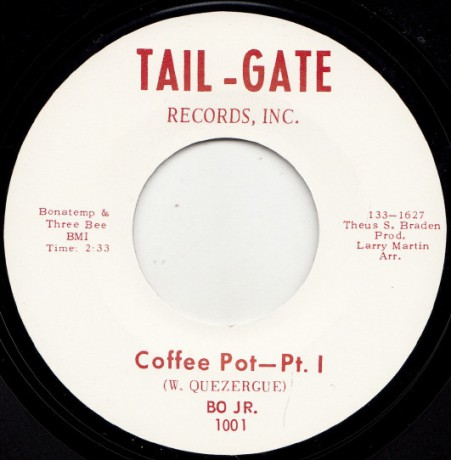 "BO JR. ""COFFEE POT PT. 1 / COFFEE POT PT. 2"" 7"""