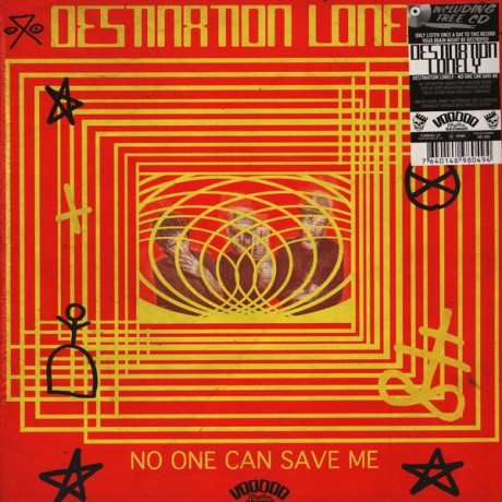 """DESTINATION LONELY """"No One Can Save Me"""" LP + CD"""
