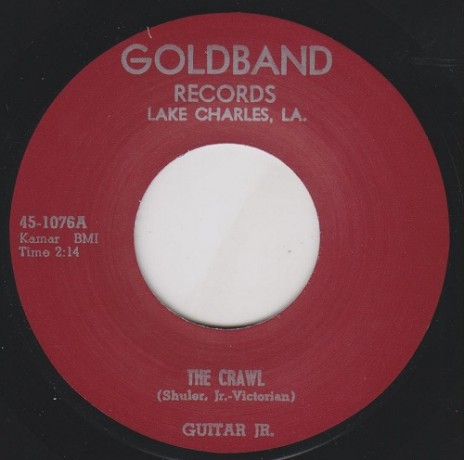 "GUITAR JR. ""ROLL ROLL ROLL / THE CRAWL"" 7"""