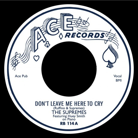 """SUPREMES """"Don't Leave Me Here To Cry / Just You & I"""" 7"""""""
