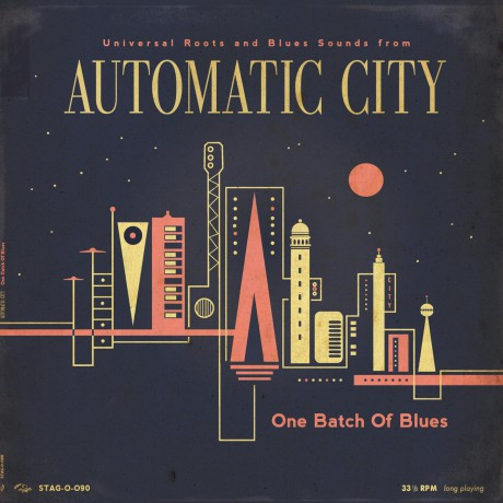 """AUTOMATIC CITY """"One Batch Of Blues"""" 10"""""""