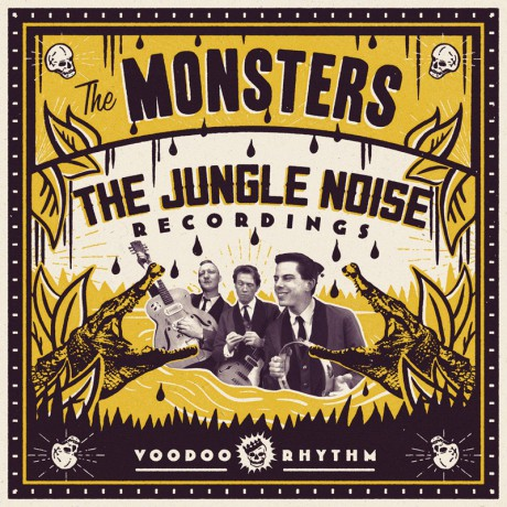 """MONSTERS """"The Jungle Noise Recordings"""" CD"""