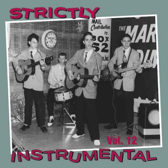 STRICTLY INSTRUMENTAL Vol. 12 cd (Buffalo Bop)
