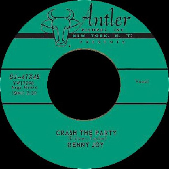 """BENNY JOY """"LITTLE RED BOOK / CRASH THE PARTY"""" 7"""""""