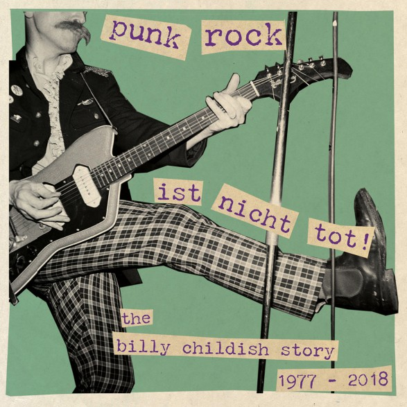 "BILLY CHILDISH ""PUNK ROCK IST NICHT TOT"" Triple LP"