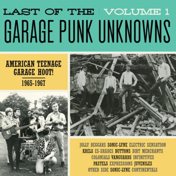 LAST OF THE GARAGE PUNK UNKNOWNS 1 LP