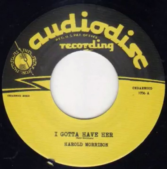 HAROLD MORRISON I GOTTA HAVE HER / TOMMY SMITH - BORNED UNLUCKY